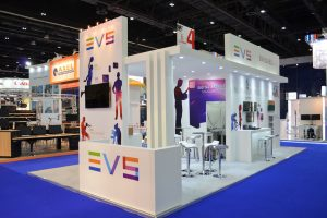 EVS STAND @ CABSAT 2015