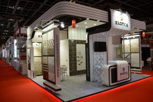 EXOTICA TILES STAND @ BIG5 2013