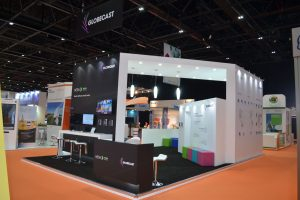 GLOBECAST-stand-@-CABSAT-2016