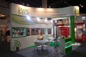 WIS NETWORKS STAND @ GITEX 2014